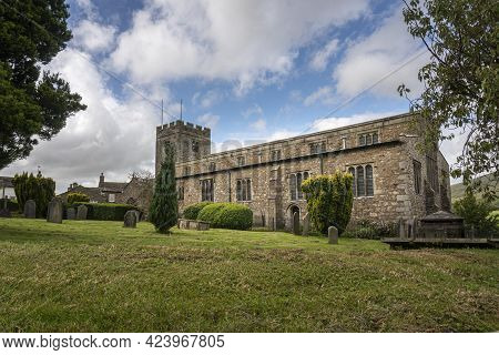 St Andrew's Church In The Village Of Dent, Cumbria, England