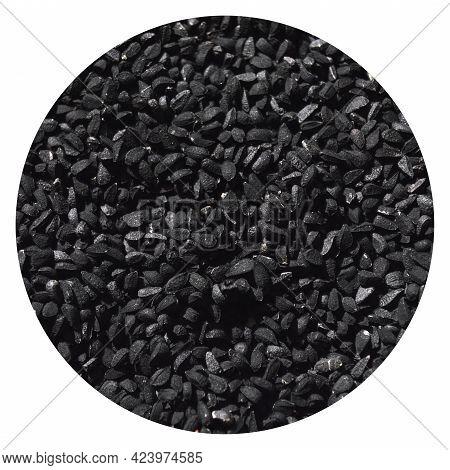 Many Dry Black Cumin Organic And Aromatic, Black Cumin Texture Background
