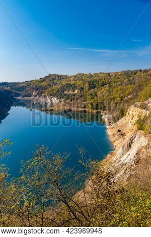 Gold mine near village of Rudabanya in Northern Hungary with a site of remains Rudapithecus Hungaricus, Hungary
