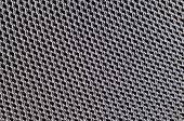 Close up aluminum speaker textured for background poster