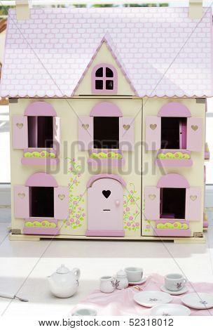 Dollhouse And Teaset
