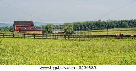 Rural Virginia Farm