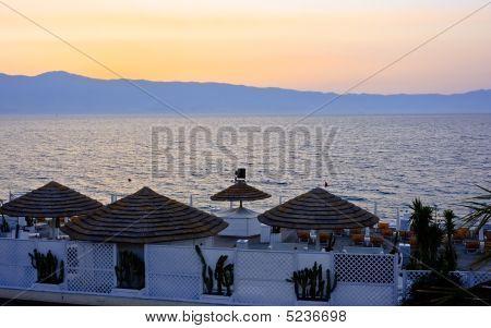 Sunset In Reggio Calabria
