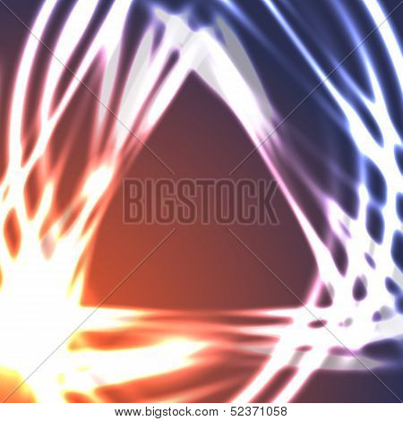 Vector astral background. This is file of EPS10 format. poster