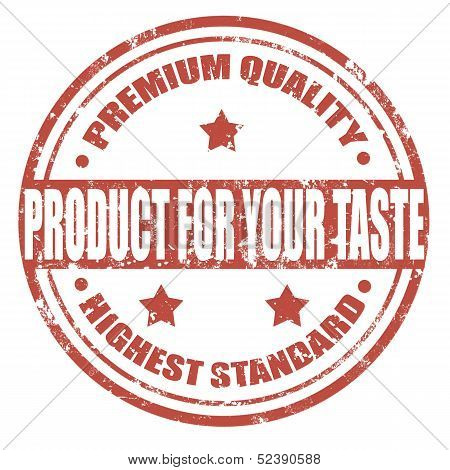 Product For Your Taste-stamp