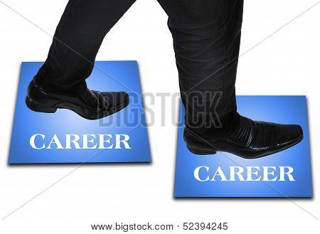 Business Man Step