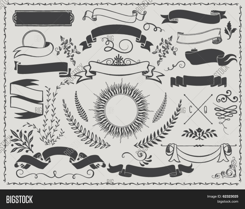 Vintage Banners - Vintage Vector Vector & Photo | Bigstock