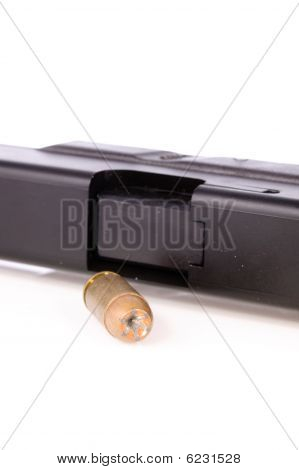 Hollow Point Bullet With Gun