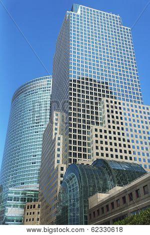 World Financial Center in Lower Manhattan