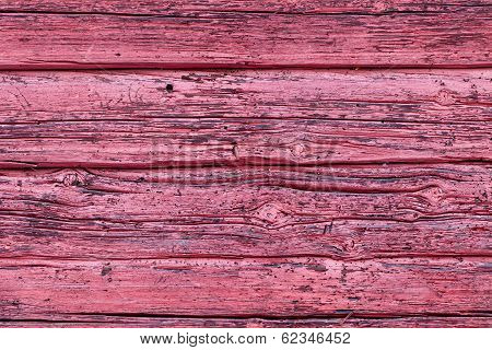 Worn Horizontal Timber Wall