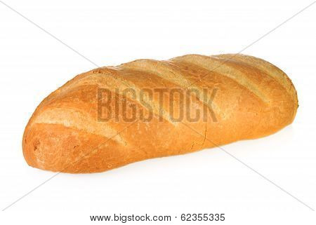 Crusty White Bloomer Bread