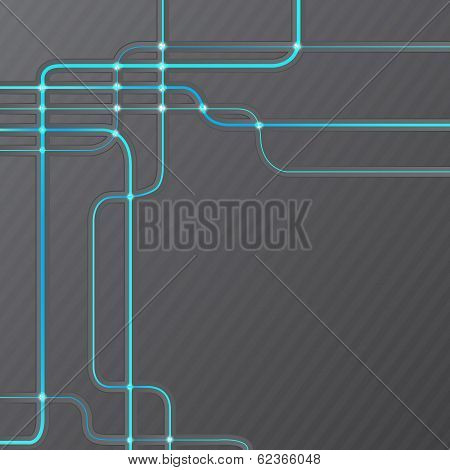 Abstract technical hitech grunge background