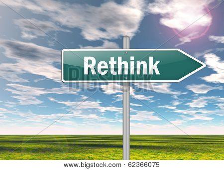 Signpost Rethink