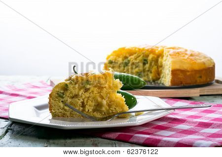 Jalepeno Cheddar Cornbread