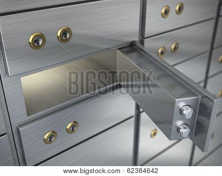 Safe cell, safe deposit box