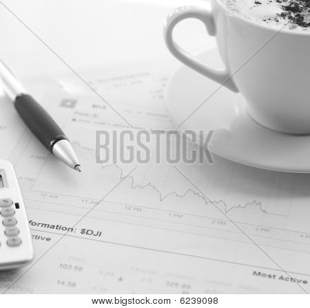 1568 Morning Business Stilllife