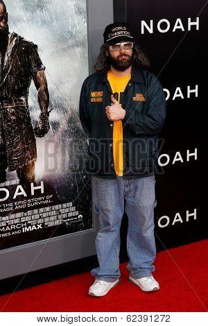 NEW YORK-MAR 26: Actor Judah Friedlander attends the premiere of