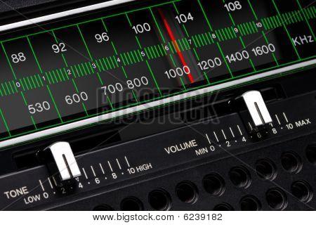 Vintage Radio-tuner