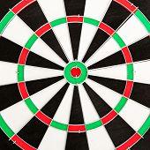 Classic Darts Board poster