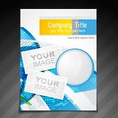 vector company brochure flyer magazine cover and poster template design poster