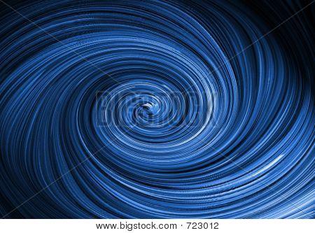 Big Blue Twist