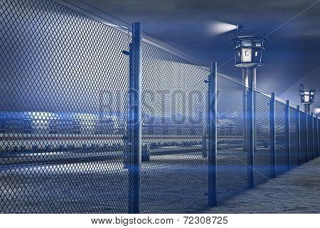 Berlin Wall 3D artwork