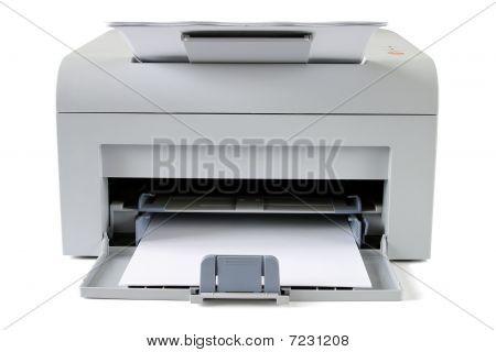 Printing laser printer