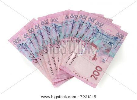 200 Grn banknotes