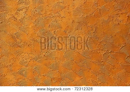 Patterned wall background