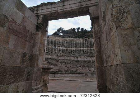 Roman Amphitheater - Amman, Jordan