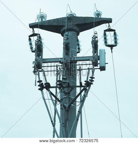 Trasmission Line Tower