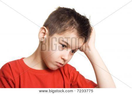 Worried  Boy