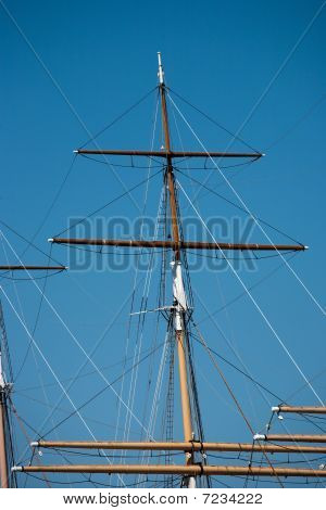 Rigging Of A Square Rigger