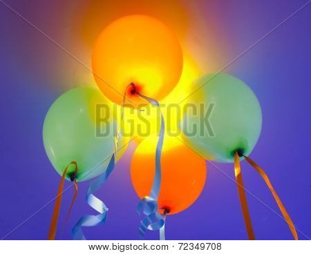 Colorful Party Balloons