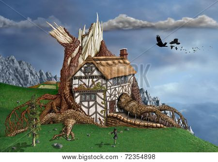 Fantasy Tree House