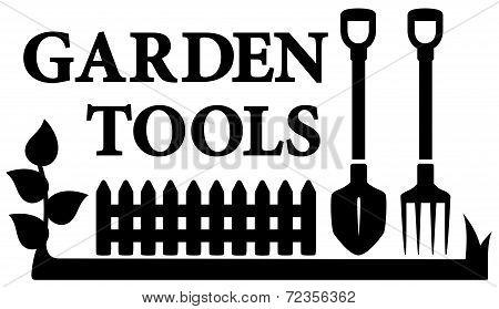 gardening tools symbol
