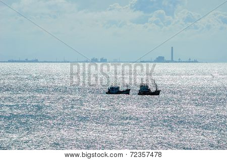 Fishing Sea Boat