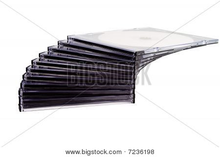 Stack Of Compact Discs