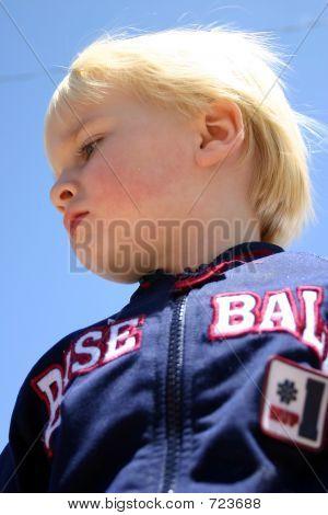 Little Boy in Jacket