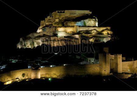 Morella at night
