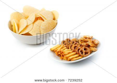 salzige snacks