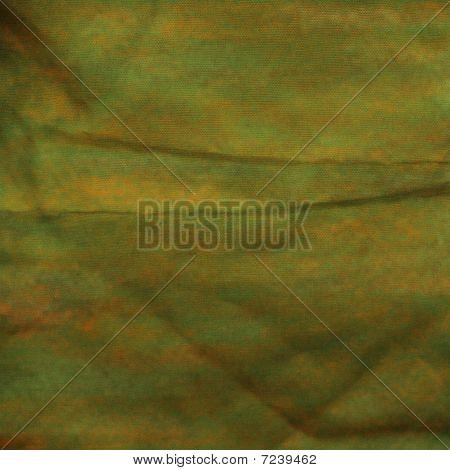 Textured Green Orange Background