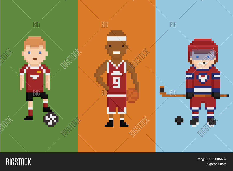 Pixel Art Style Vector Photo Free Trial Bigstock
