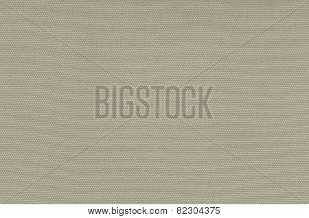 Beige Khaki Cotton Fabric Texture Background, Detailed Macro Closeup Large Horizontal Textured Linen