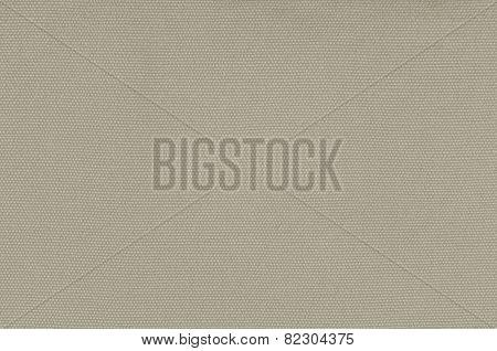 Beige Khaki Cotton Fabric Texture Background, Detailed Macro Closeup Large Horizontal Textured Linen