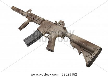 Assault Rifle With Suppressor  - Special Forces Rifle