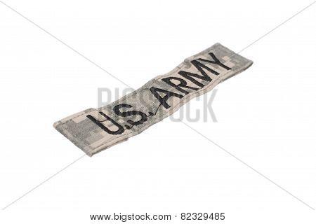 Us Army Acu Uniform Badge