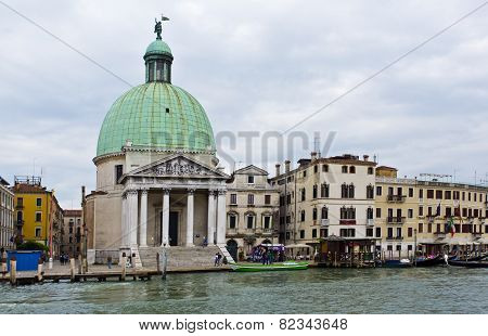Venice Church Of San Simeone Piccolo