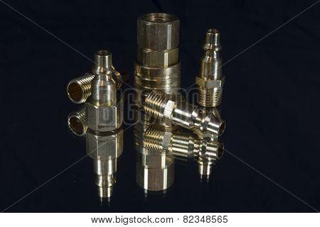 Brass Quick Fittings For Air Compressor Hose