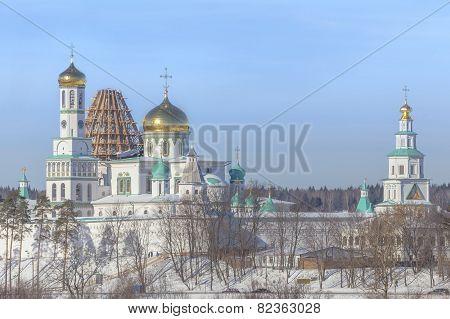 New Jerusalem Monastery In Winter